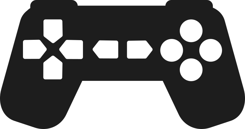 Controller clipart transparent IMAGE (PNG) Controller Outline MEDIUM
