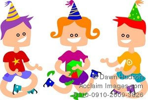 Party clipart party game Kids the Kids Game Illustration