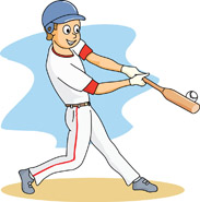 Boy clipart baseball player Clipart clipart baseball game Clipart