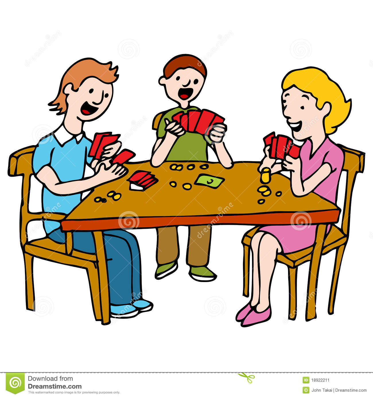 Poker clipart card game Clip People of free 10