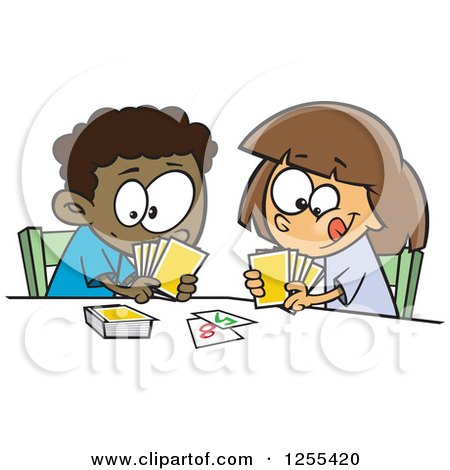 Cards clipart kid Clipart Free (RF) People Royalty