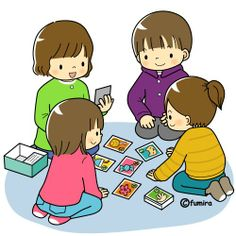 Cards clipart kid Game the card Card games