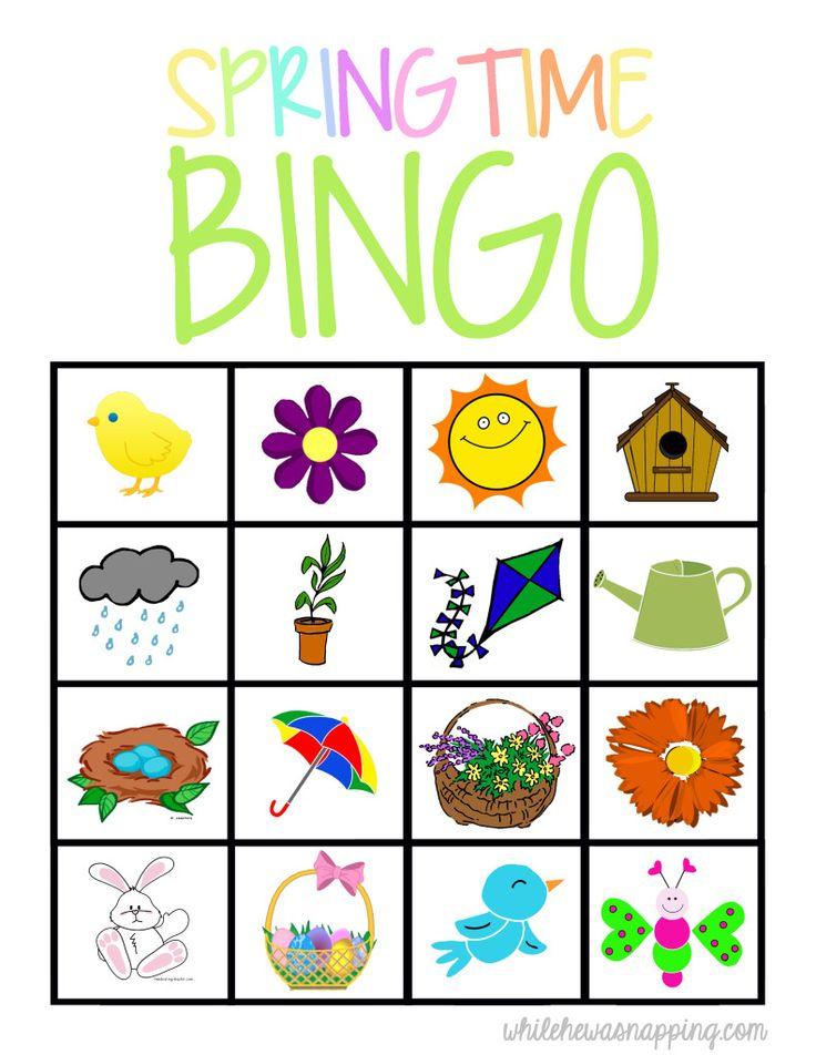 Game clipart preschool Springtime Game kids for Best