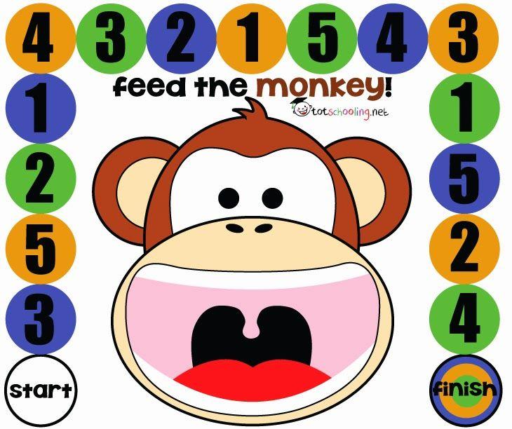 Game clipart preschool Free Game Monkey art the
