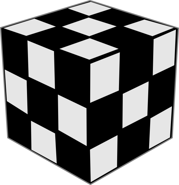 Cube clipart rubik's cube This as: Clip Clker Rubik