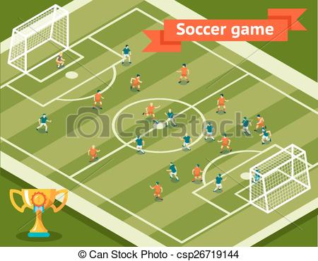 Game clipart soccer game #8