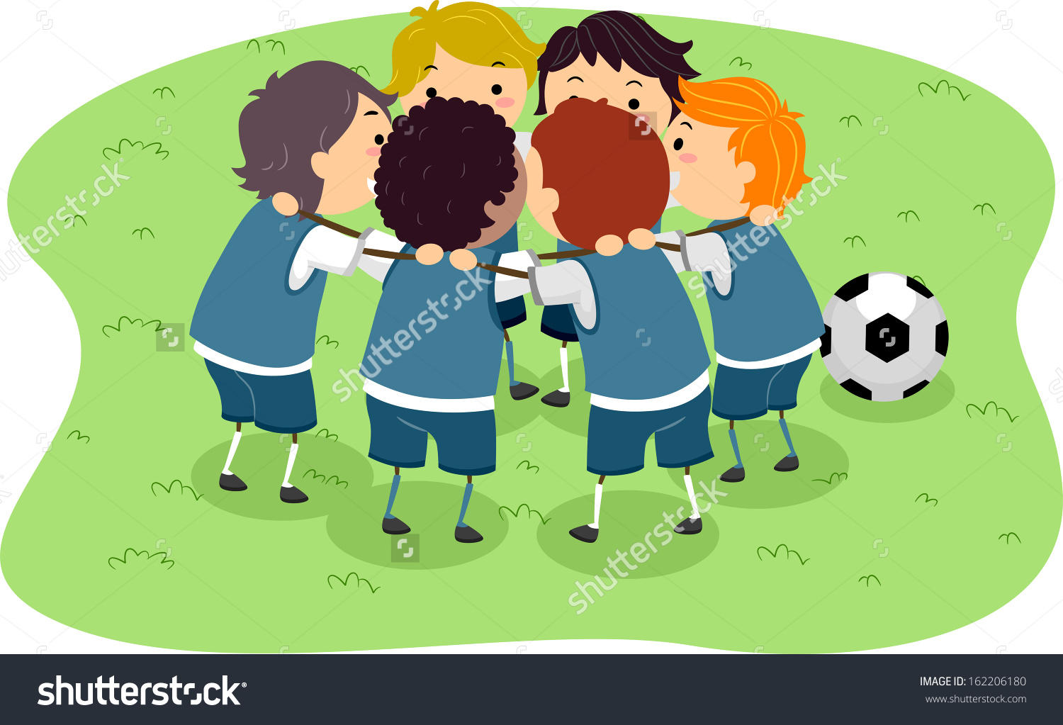 Soccer clipart soccer game Clipart Soccer Playing Playing Clipart