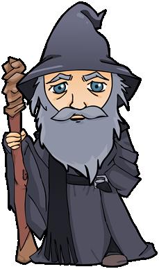 Gandalf clipart Rings the los Tolkien Gandalf