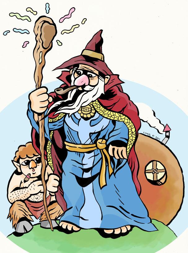 Bilbo Baggins clipart gandalf Fairytale Clipart clipart Clip