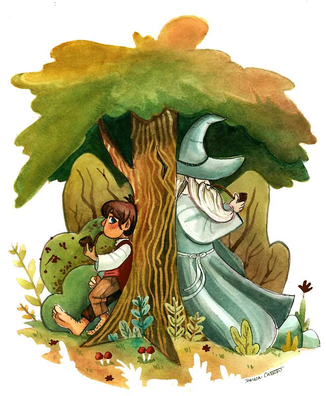 Bilbo Baggins clipart gandalf Redbubble by Baggins Bilbo Gandalf