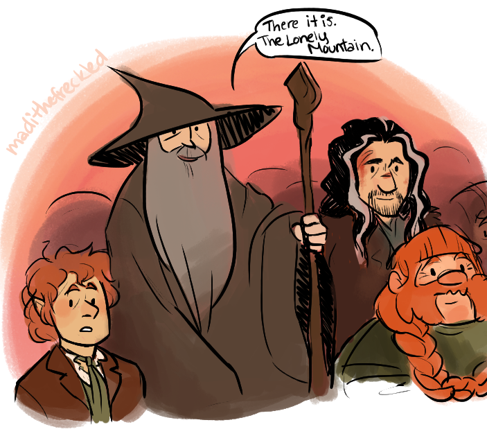 Gandalf clipart bilbo baggins Fear the without touch