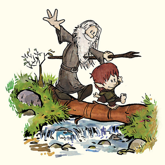 Bilbo Baggins clipart gandalf Bilbo of Hobbes and Awesome