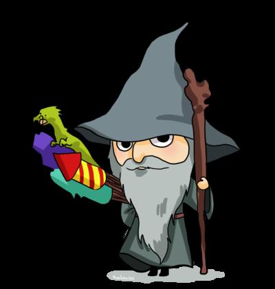 Gandalf clipart cartoon Gandalf :) Love Chibi Gandalf
