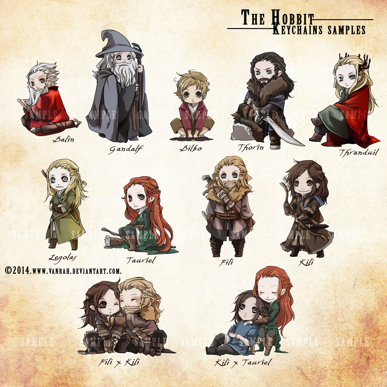 Gandalf clipart chibi VanRah on The deviantart