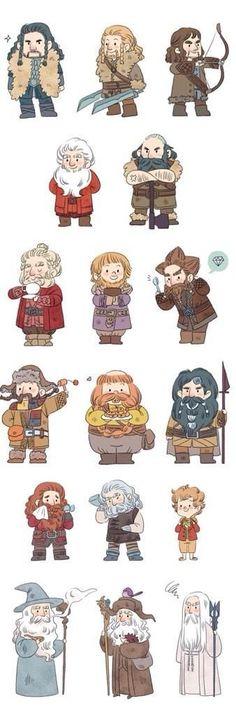 Bilbo Baggins clipart lord the ring  Journey Desolation Ori The