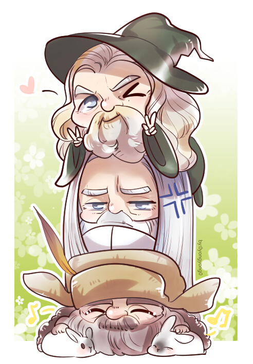 Gandalf clipart cute By is Radagast Radagast so