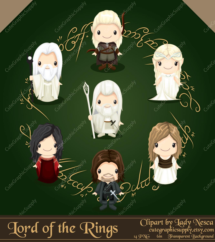 Hobbit clipart animated The Rings elf clipart hobbit