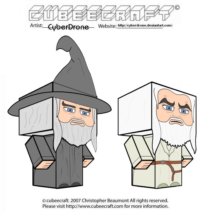 Gandalf clipart gollum By Cubeecraft Gandalf DeviantArt Cubeecraft