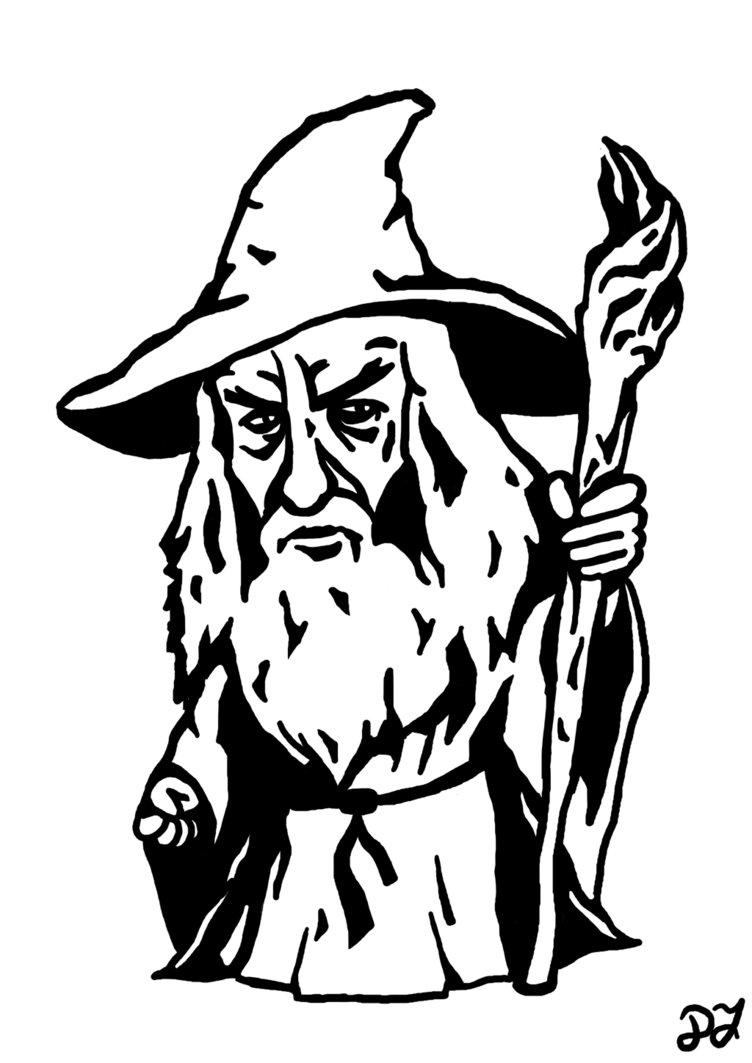 Gandalf clipart hat SinnedArt on SinnedArt Gandalf DeviantArt