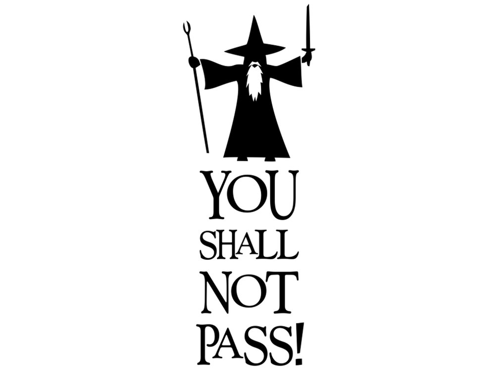 Gandalf clipart cartoon For LOTR Pinterest Gandalf Silhouette