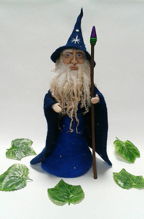 Gandalf clipart merlin Large Needle  by Fantasy