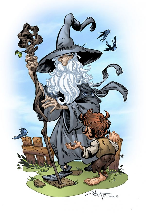Hobbit clipart animated Pieces of A to The