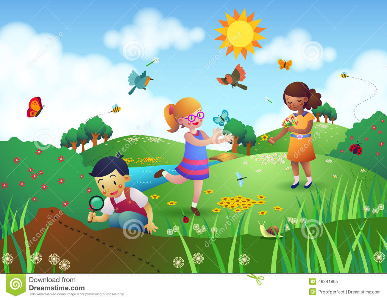 Fence clipart child garden #11