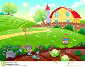 Garden clipart animated Art Outdoor Farm Garden Clipart