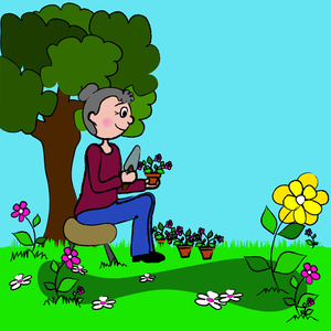 Garden clipart animated Clipart Animated Clipartix clipart garden