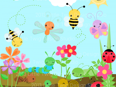 Garden clipart background png Clip Digital Digital collection collection