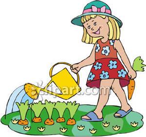 Cartoon clipart gardener Garden Art Free Clipart Images