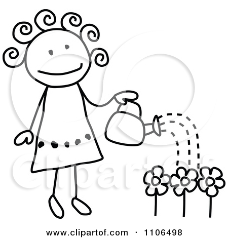 Garden clipart drawing Clear Kids drawing For garden