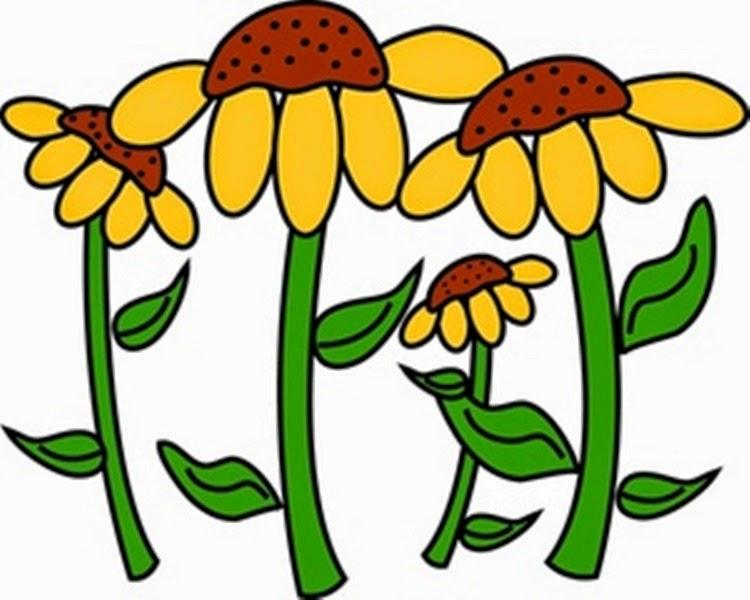 Garden clipart flower cartoon #6