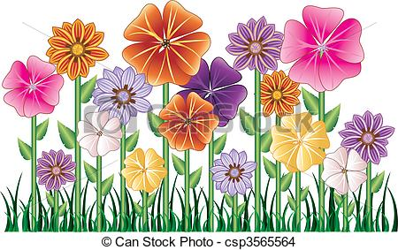 Garden clipart flower garden Clipart clip collection flower 137