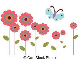 Garden clipart flower garden 140 Stock clip 339 Flower