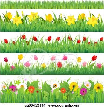 Garden clipart garden border #8