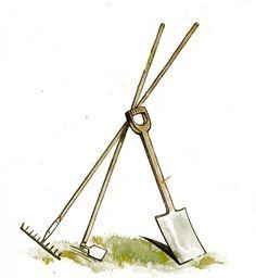Garden clipart garden trowel #5