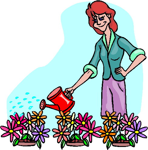 Cartoon clipart gardener Gardening Clipart  Free garden