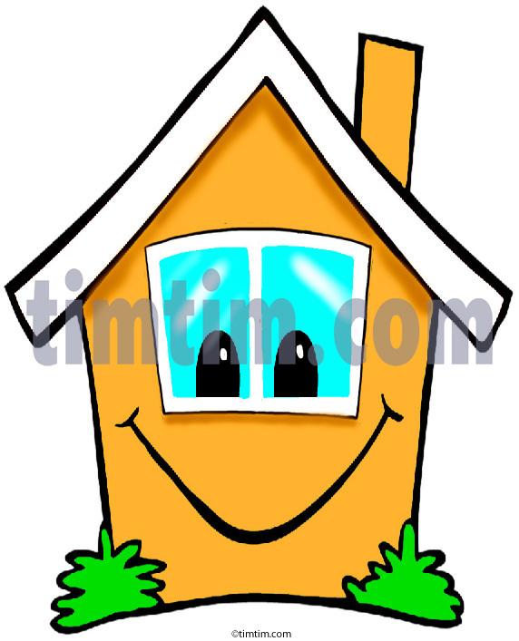 Garden clipart happy home #7