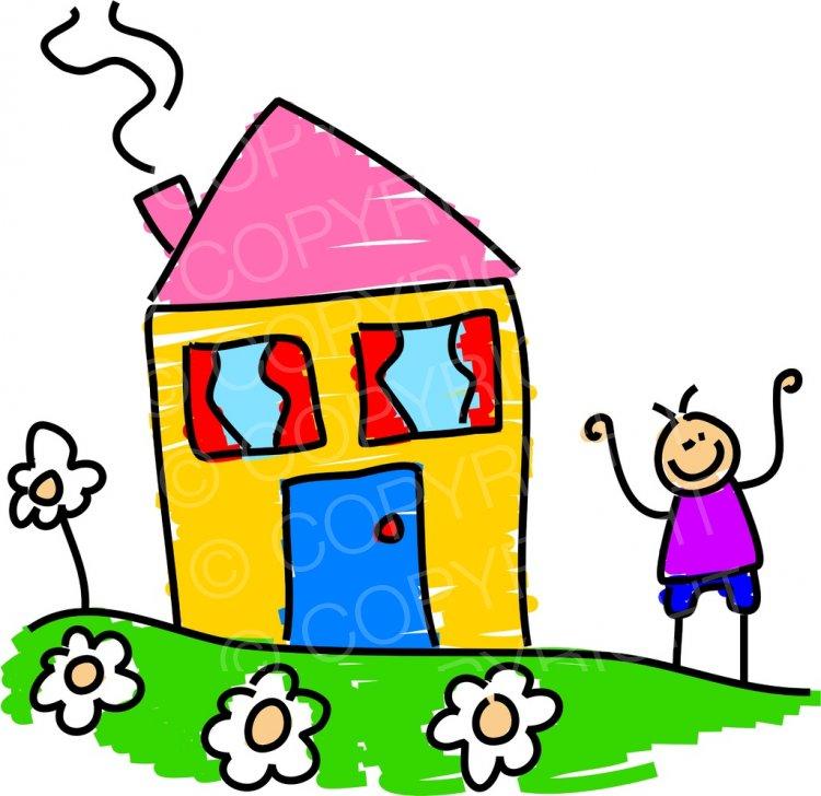 Garden clipart happy home #4