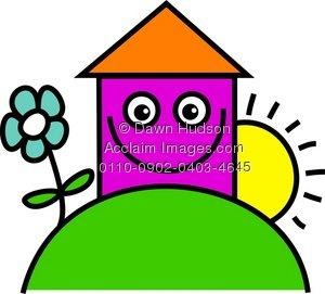 Garden clipart happy home #2