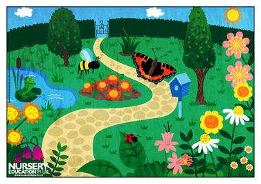 Garden clipart kindergarten #5