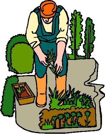 Garden clipart nagtatanim Art Gardner Clip Clipart Clip