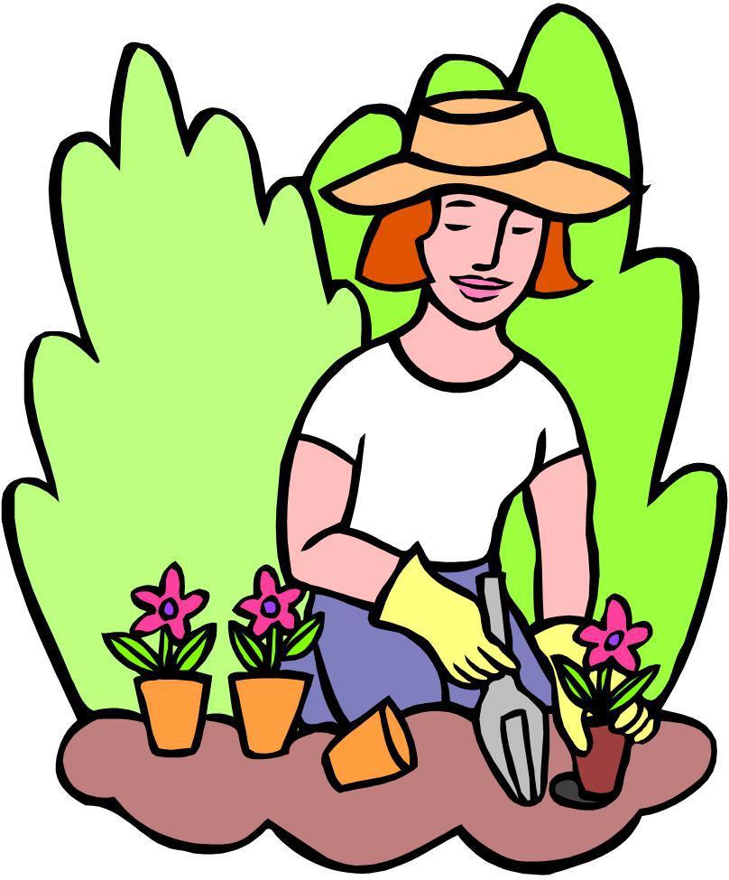 Garden clipart nagtatanim +•Crazy Asian•+  Gardening Obsession
