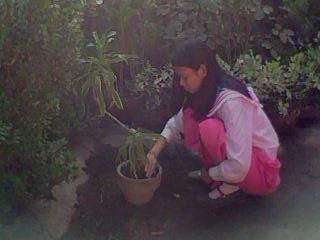 Garden clipart nagtatanim Mga sa paaralan ng ng