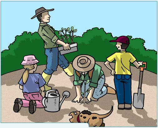 Garden clipart nagtatanim Want are also teaching kids