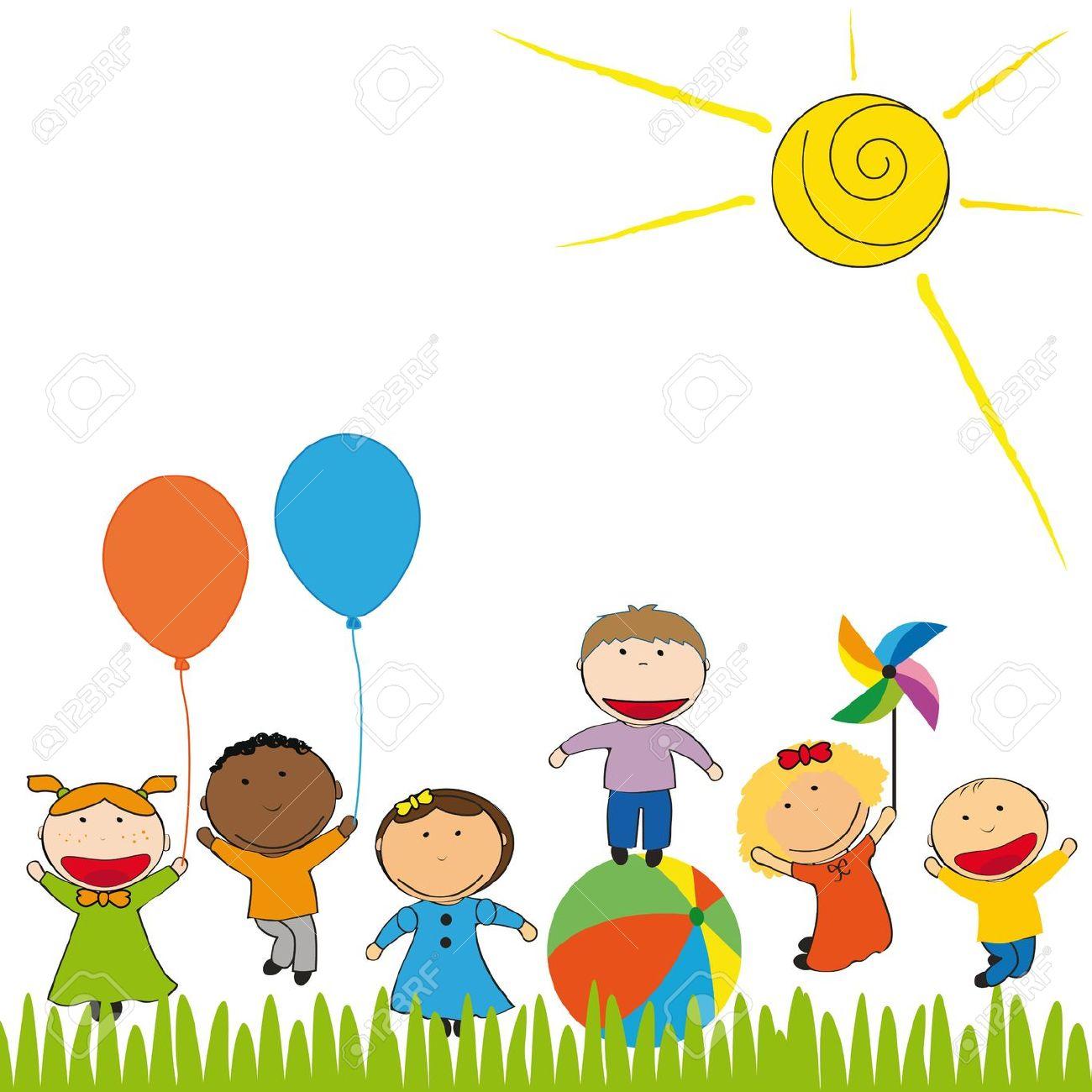 Garden clipart preschool  Google niños para Clip