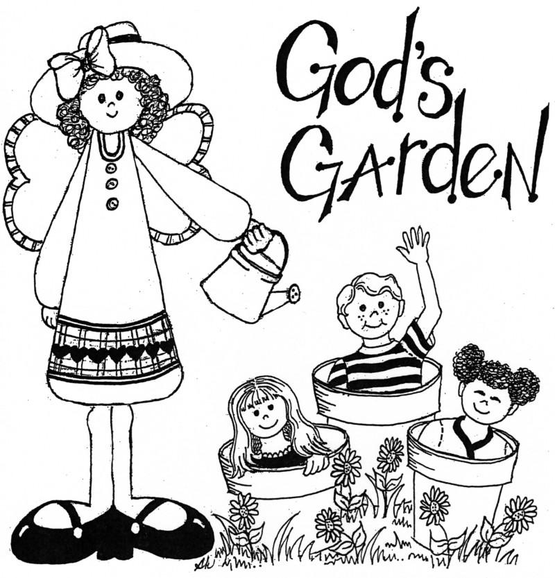 Garden clipart preschool God's Preschool Welcome to Garden