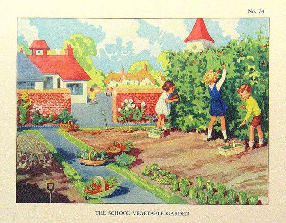 Garden clipart school garden #7