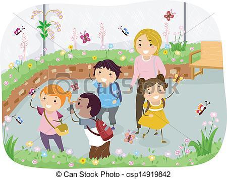 Garden clipart school garden #2